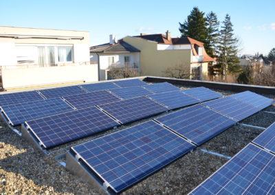 Einfamilienhaus Solaranlage