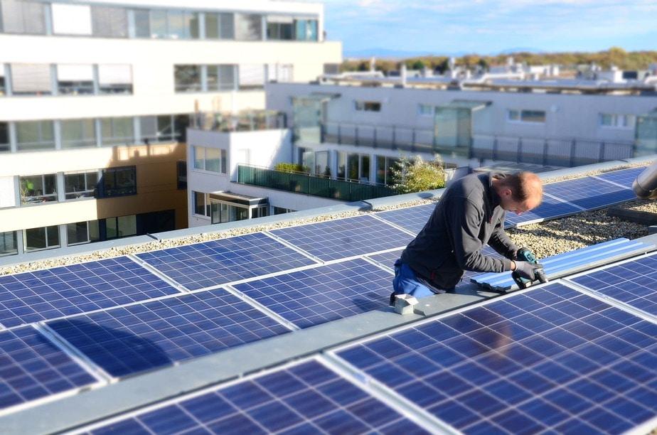 Photovoltaik Referenz: Contracting in Wien