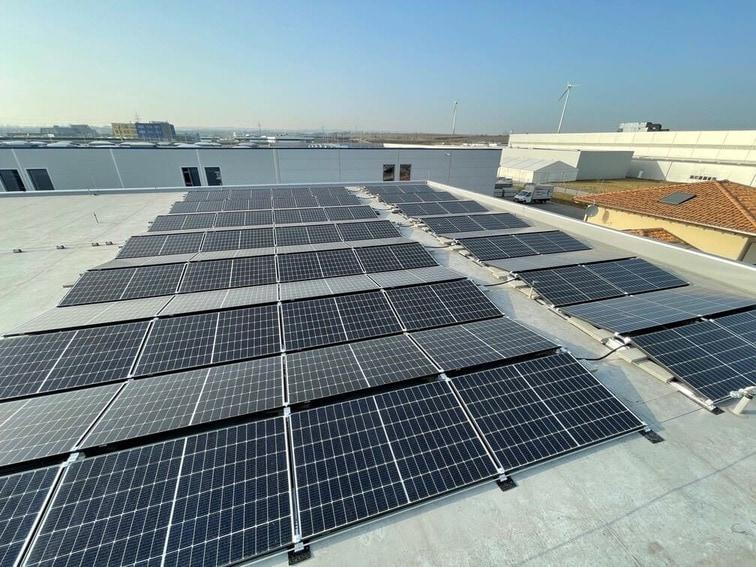 Photovoltaik Ost-West Ausrichtung im Burgenland